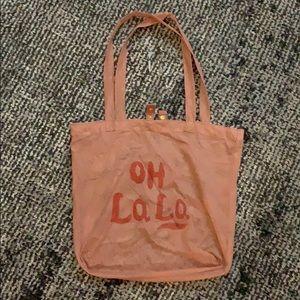 Mini Rodini OH LA LA collection mesh tote